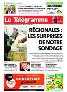 Le Télégramme Brest Abers Iroise – 08 mai 2021