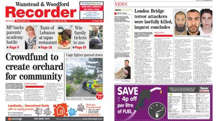 Wanstead & Woodford Recorder – July 18, 2019