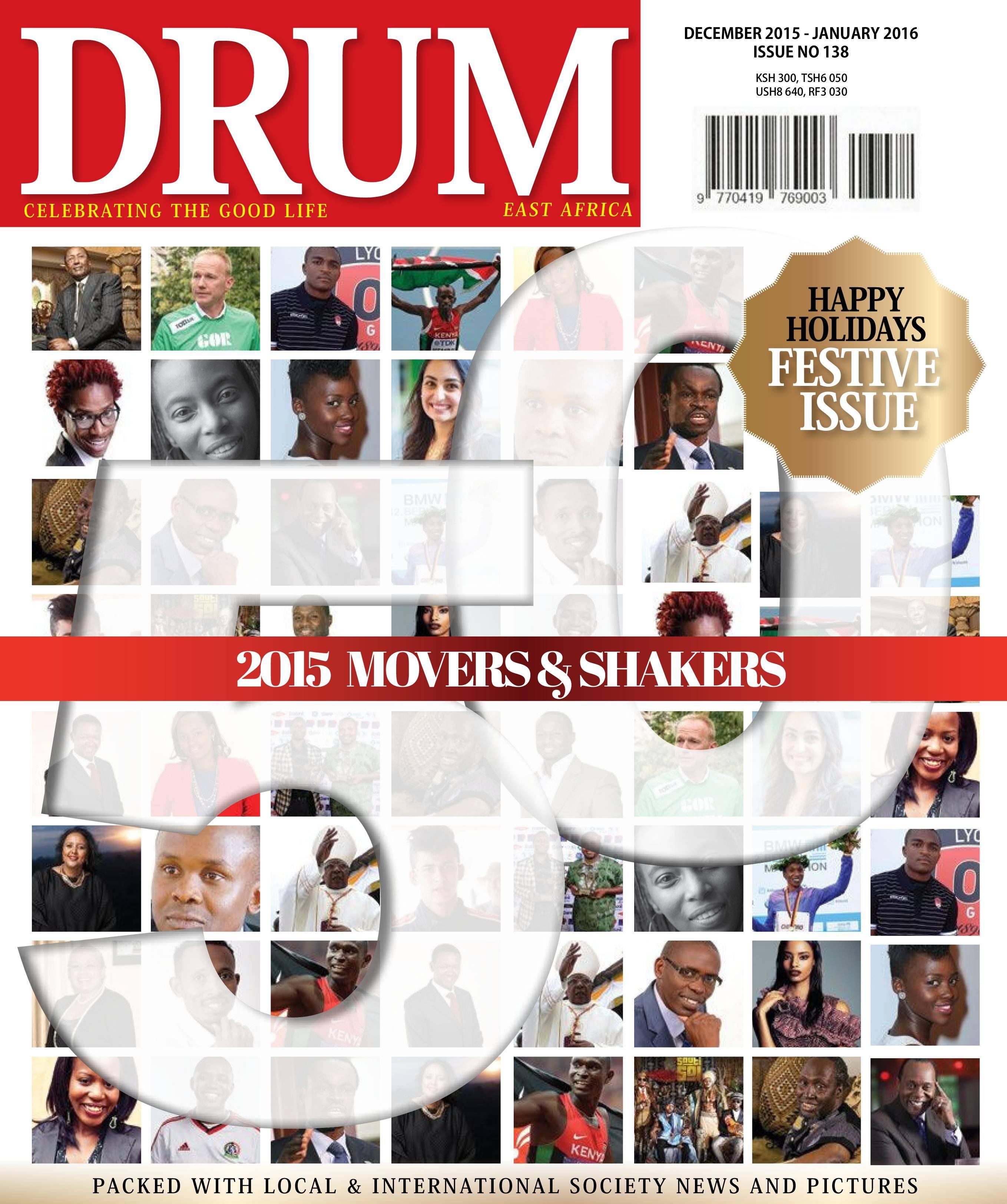 Drum East Africa - December 2015