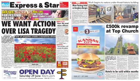 Express and Star City Edition – June 22, 2019