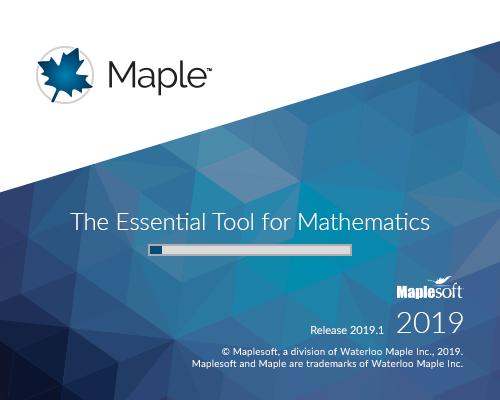 Maplesoft Maple 2019.1
