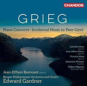 Bergen Philharmonic Orchestra & Edward Gardner - Grieg: Peer Gynt, Op. 23 & Piano Concerto in A Minor, Op. 16 (2018)
