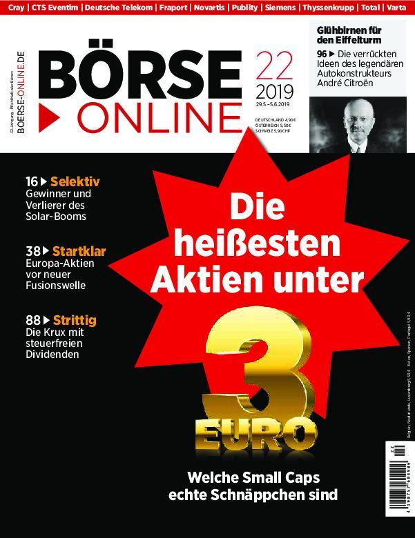 Börse Online – 29. Mai 2019
