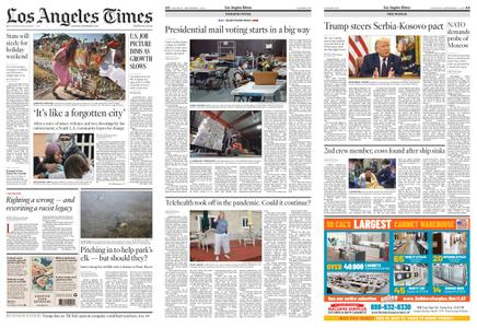 Los Angeles Times – September 05, 2020