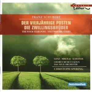 Chorus Musicus Köln, Das Neue Orchester, Christoph Spering - Schubert: Der Vierjährige Posten & Die Zwillingsbrüder (2008)