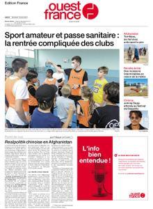 Ouest-France Édition France – 18 août 2021