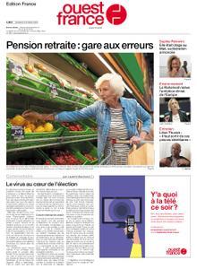 Ouest-France Édition France – 09 octobre 2020