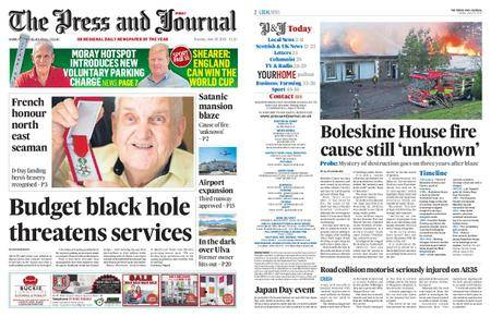 The Press and Journal Moray – June 26, 2018
