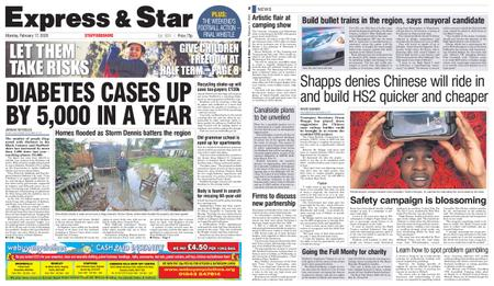 Express and Star Staffordshire Edition – February 17, 2020