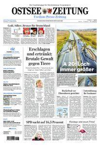 Ostsee Zeitung Wolgast - 13. Februar 2018