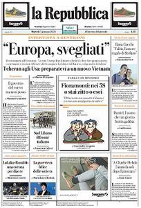 la Repubblica - 7 Gennaio 2020