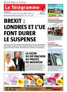 Le Télégramme Brest Abers Iroise – 17 octobre 2019
