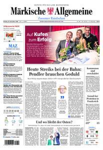 Märkische Allgemeine Zossener Rundschau - 10. Dezember 2018