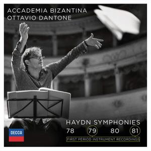 Ottavio Dantone, Accademia Bizantina - Haydn: Symphonies Nos. 78-81 (2016)