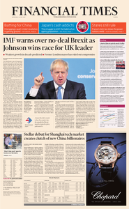 Financial Times Europe – 24 July 2019
