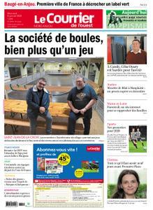 Le Courrier de l'Ouest Nord Anjou – 08 janvier 2020