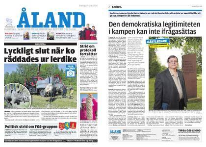 Ålandstidningen – 29 juni 2018