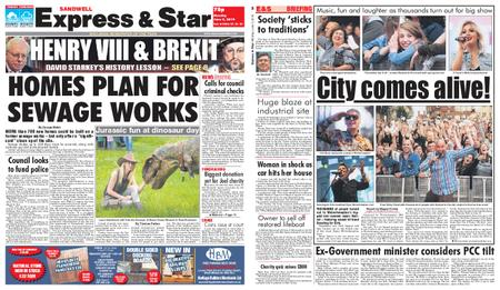 Express and Star Sandwell Edition – June 03, 2019