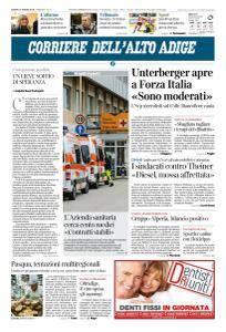 Corriere dell'Alto Adige - 31 Marzo 2018