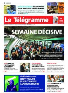Le Télégramme Brest – 17 décembre 2019