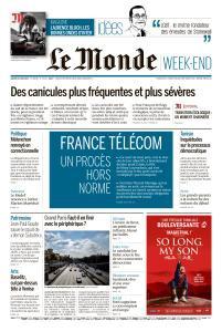 Le Monde du Samedi 29 Juin 2019