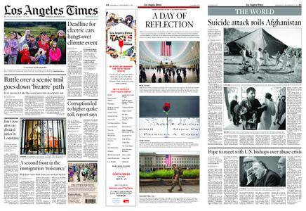 Los Angeles Times – September 12, 2018