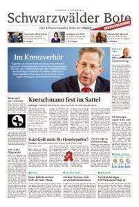 Schwarzwälder Bote Blumberg - 13. September 2018