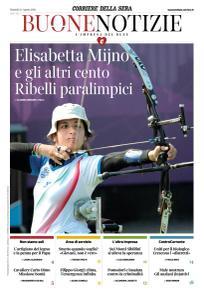 Corriere della Sera Buone Notizie - 24 Agosto 2021