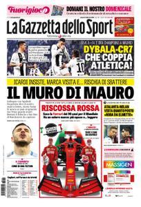 La Gazzetta dello Sport Roma – 16 febbraio 2019