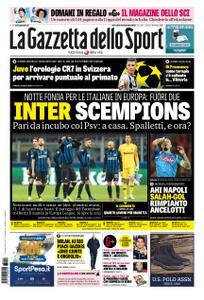 La Gazzetta dello Sport Roma – 12 dicembre 2018