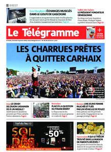 Le Télégramme Brest – 10 janvier 2020