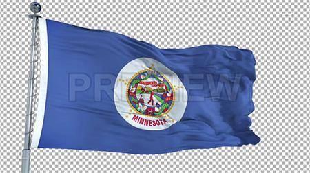 MA - Minnesota Flag 73695