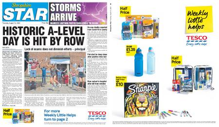 Shropshire Star Shrewsbury Edition – August 13, 2020