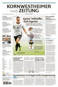 Kornwestheimer Zeitung - 16. Mai 2018