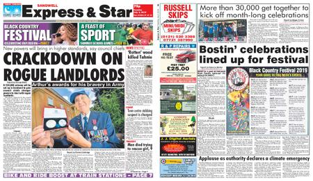 Express and Star Sandwell Edition – July 02, 2019