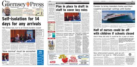 The Guernsey Press – 18 March 2020