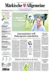 Märkische Allgemeine Zossener Rundschau - 13. August 2018