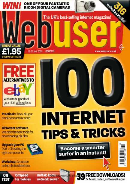 [Magazine] Webuser - April.13.2006