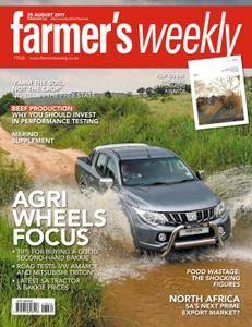 Farmer's Weekly - 25 August 2017