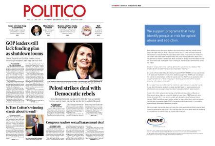 Politico – December 13, 2018