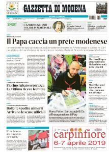Gazzetta di Modena - 6 Aprile 2019