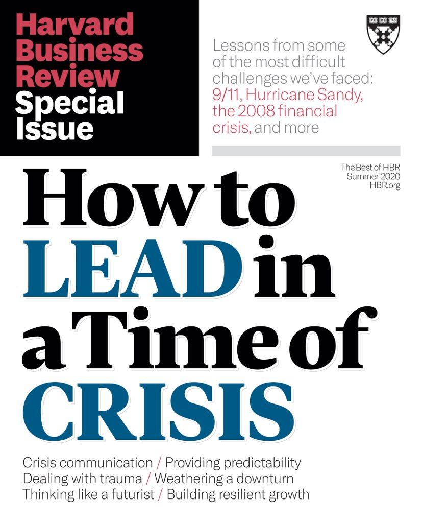 Harvard Business Review OnPoint -  Summer 2020