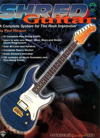 Shred Guitar: A Complete System for the Rock Guitar Improviser
