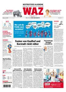 WAZ Westdeutsche Allgemeine Zeitung Oberhausen-Sterkrade - 06. Juli 2018