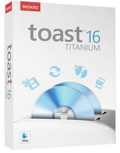 Roxio Toast Titanium 16.0.4745 Multilingual MacOSX
