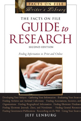 The Facts on File Guide to Research, 2nd Edition