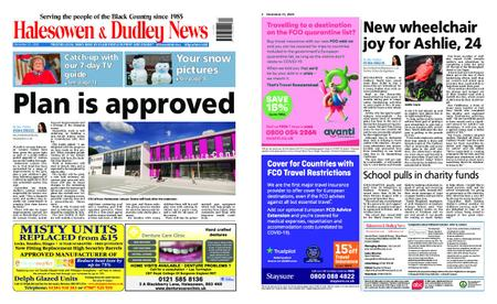 Halesowen News – December 31, 2020