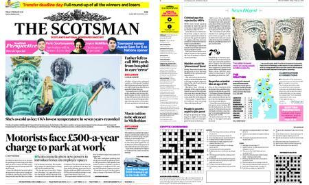 The Scotsman – February 01, 2019