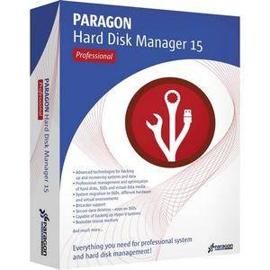 Paragon Hard Disk Manager 15 Professional 10.1.25.1125 + Boot Medias