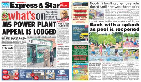 Express and Star Sandwell Edition – August 02, 2019